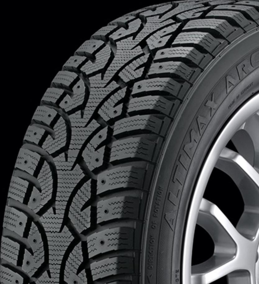 17″ 2018 Tiguan  – Black Steel Rim and General Altimax 12 Tire