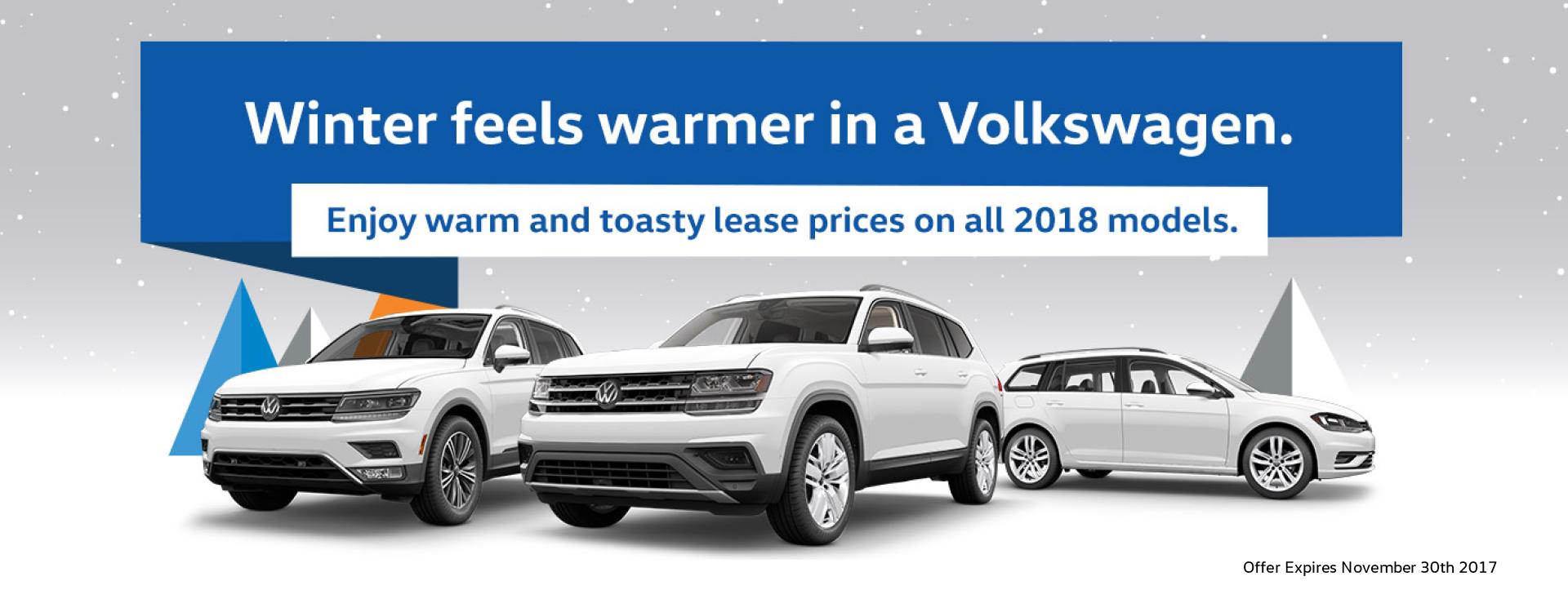 Winter Banner VW