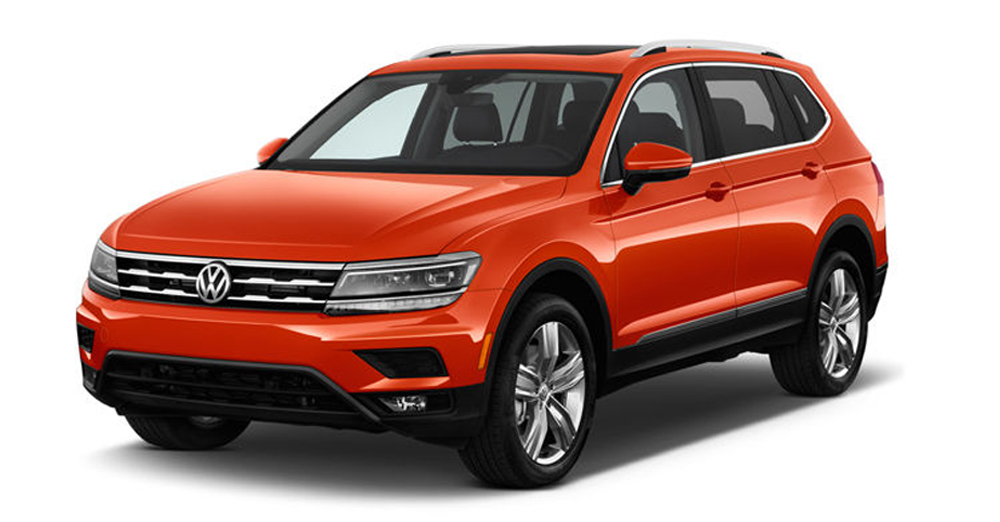 2018 Tiguan – Long Wheel Base